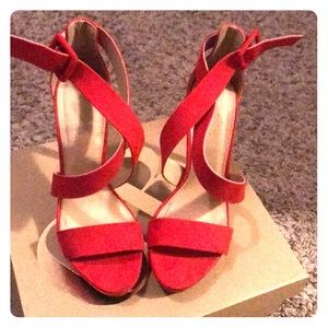 Size 7 Charlotte Russe Red Heels